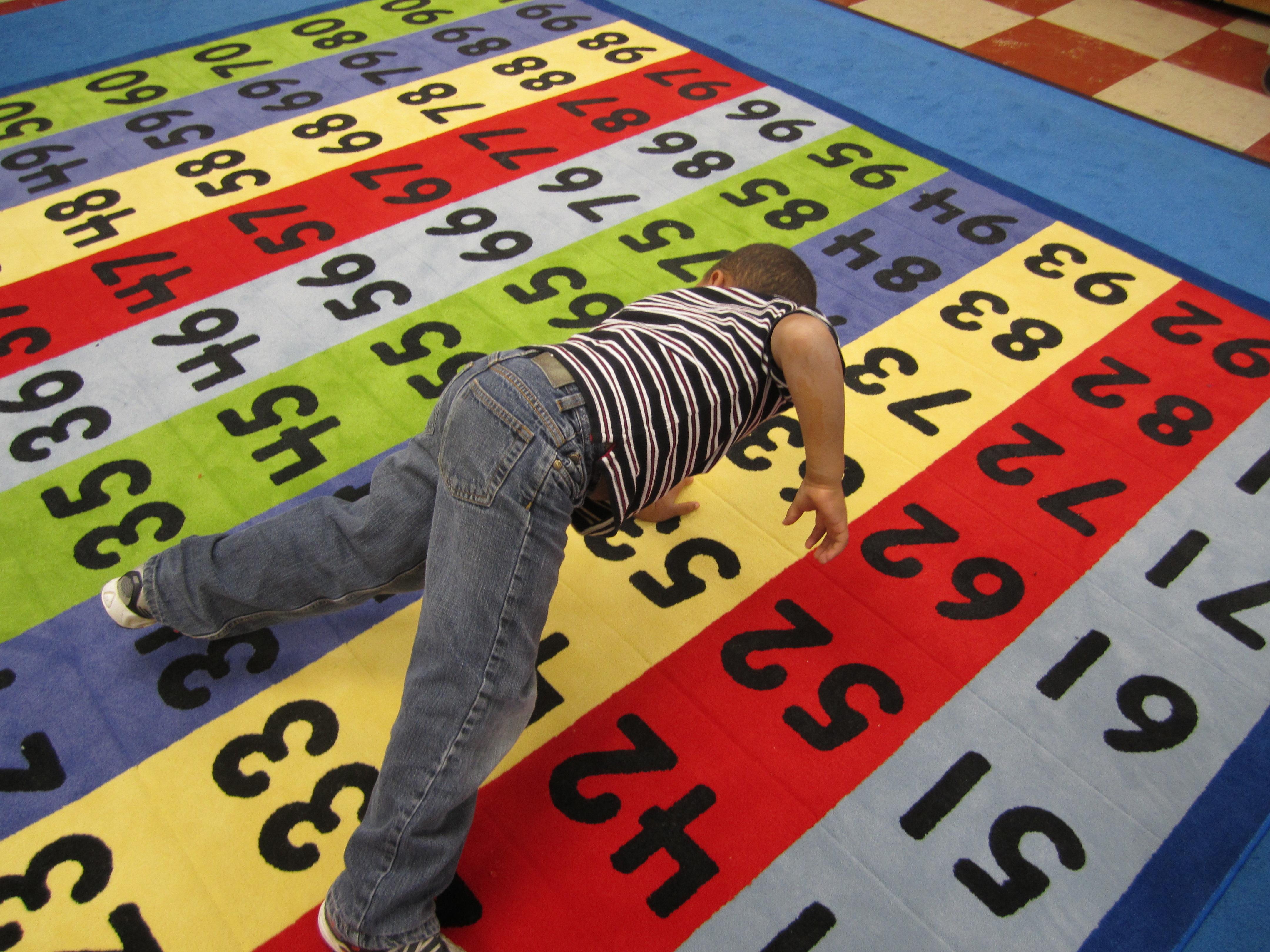 100 Number Grid Classroom Rug Math Made Fun