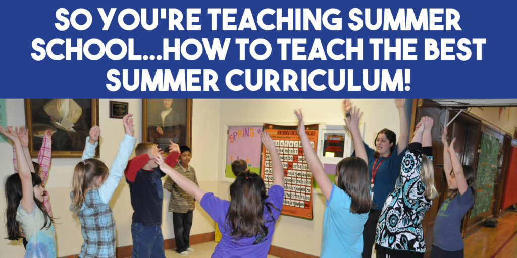teaching summer school